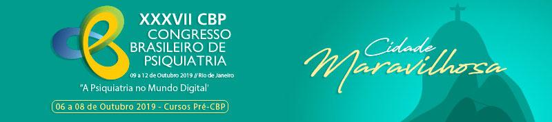 XXXVII Congresso Brasileiro de Psiquiatria